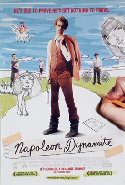 NAPOLEON DYNAMITE (Single-sided Regular) ORIGINAL CINEMA POSTER