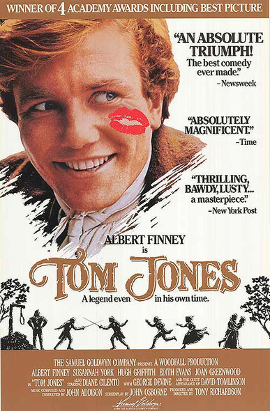 TOM JONES (1989 Re-Release) (SINGLE SIDED) ORIGINAL CINEMA POSTER