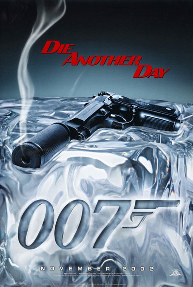 Die Another Day Advance Poster