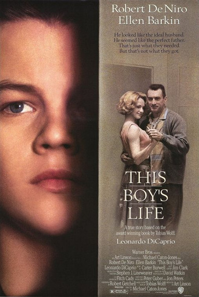 THIS BOY'S LIFE (Double Sided Regular) ORIGINAL CINEMA POSTER