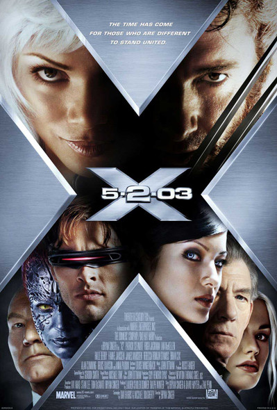 X2 (Single Sided Regular Style B) ORIGINAL CINEMA POSTER