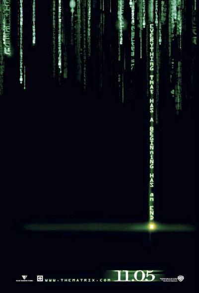 The Matrix Revolutions (International Uv Coated Double Sided) Original Cinema Poster