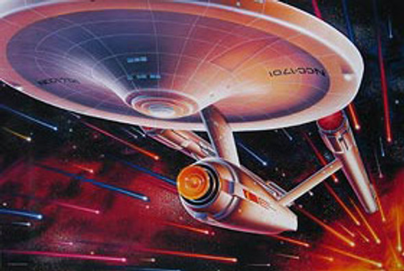 THE ENTERPRISE ORIGINAL CINEMA POSTER