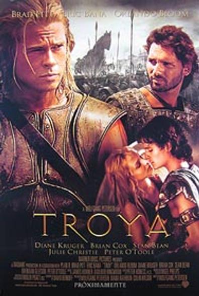 TROY (Double Sided International Spanish) ORIGINAL CINEMA POSTER