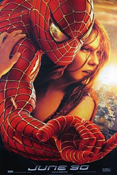 SPIDERMAN 2 (Single Sided Advance) ORIGINAL CINEMA POSTER