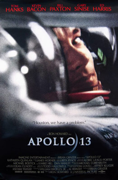 APOLLO 13 (Double Sided Regular) ORIGINAL CINEMA POSTER
