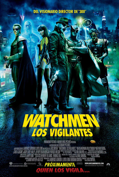 Watchmen (Double Sided Regular) (Mexican) Original Cinema Poster