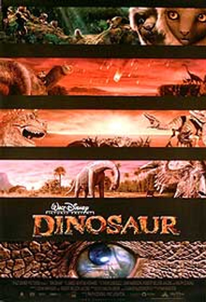 DINOSAUR (DOUBLE SIDED REGULAR) ORIGINAL CINEMA POSTER