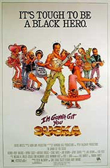 I'M GONNA GIT YOU SUCKA (SINGLE SIDED REGULAR) ORIGINAL CINEMA POSTER