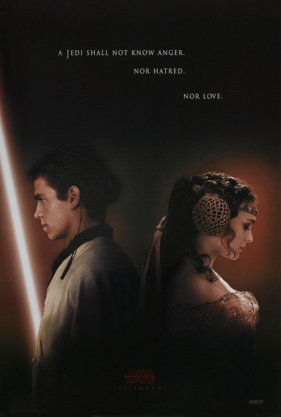 STAR WARS EPISODE II - ATTACK OF THE CLONES (ADV) ORIGINAL CINEMA POSTER