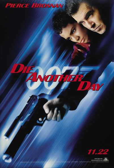 DIE ANOTHER DAY (Single-sided Advance Style B) ORIGINAL CINEMA POSTER