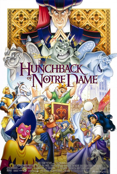 THE HUNCHBACK OF NOTRE DAME (Double Sided Regular Style B) ORIGINAL CINEMA POSTER