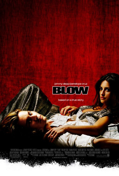 BLOW (Double Sided Regular) ORIGINAL CINEMA POSTER