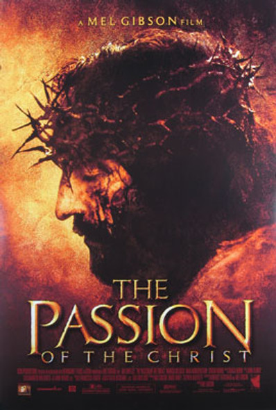 THE PASSION OF THE CHRIST (Single Sided Regular) ORIGINAL CINEMA POSTER