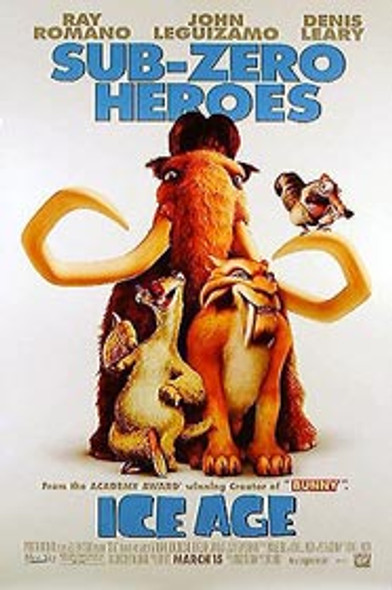 ICE AGE (Single Sided Regular) ORIGINAL CINEMA POSTER