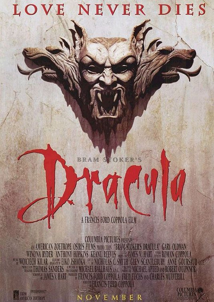DRACULA (Advance Style B) Reprint CINEMA POSTER
