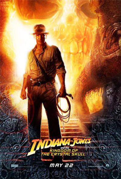 INDIANA JONES AND THE KINGDOM OF THE CRYSTAL SKULL ORIGINAL CINEMA POSTER