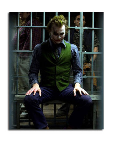 Heath Ledger - The Joker - The Dark Knight Movie Photo (SS3642431)