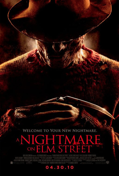 A NIGHTMARE ON ELM STREET Poster - (Jackie Earle Haley, Clancy Brown) Double Sided REGULAR US ONE SHEET (2010) ORIGINAL CINEMA POSTER