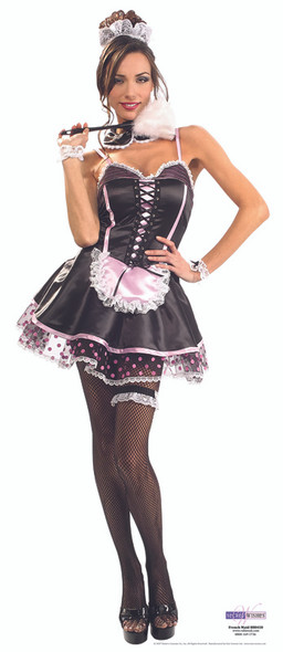 French Maid - Lifesize Cardboard Cutout / Standee