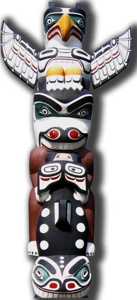 Totem Pole - Lifesize Cardboard Cutout / Standee