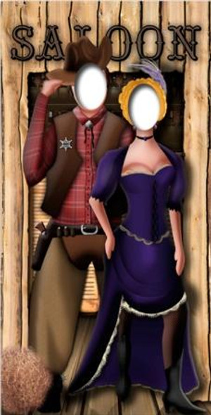 Wild West Stand In - Lifesize Cardboard Cutout / Standee