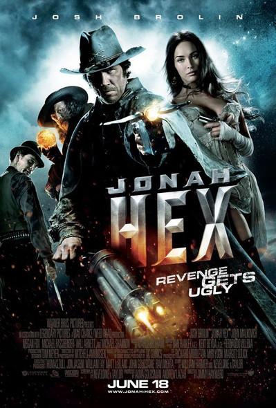 JONAH HEX Poster - (Josh Brolin, Megan Fox) double sided REGULAR US ONE SHEET (2010) ORIGINAL CINEMA POSTER