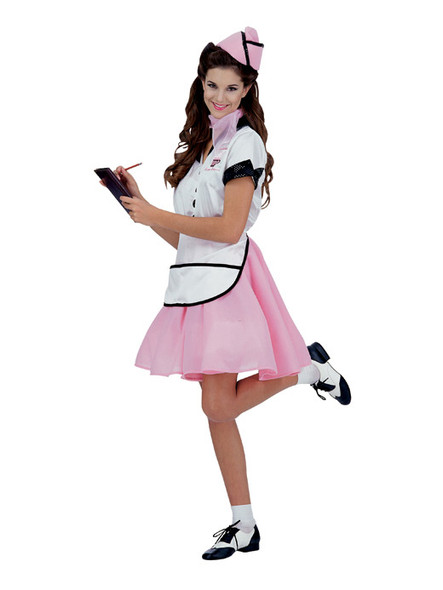 1950's Soda Pop Girl - Lifesize Cardboard Cutout / Standee