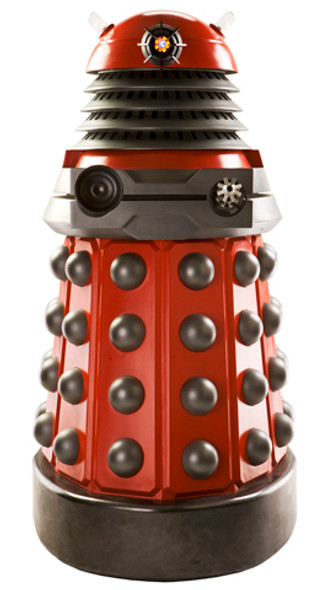 Red Dalek Drone - BBC Doctor Who / Dr Who / Dr. Who - Lifesize Cardboard Cutout /  - Lifesize Cardboard Cutout / Standee
