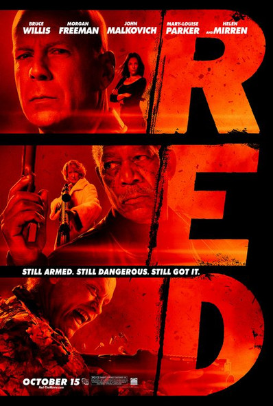 RED Poster Poster
