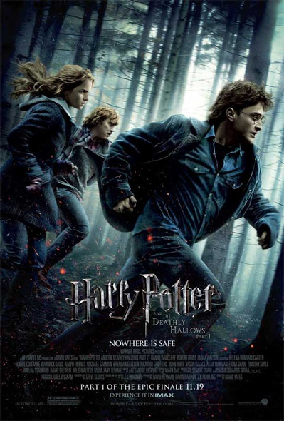 Harry Potter and The Deathly Hallows Original Movie Poster