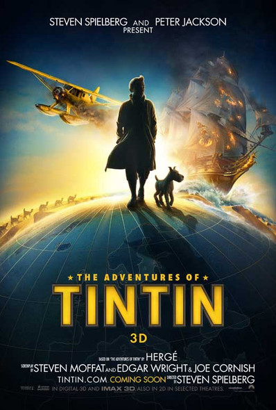 ADVENTURES OF TINTIN Poster