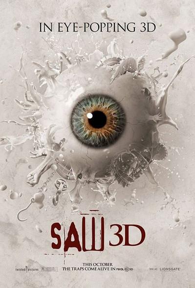 SAW 3D (Eye) Poster