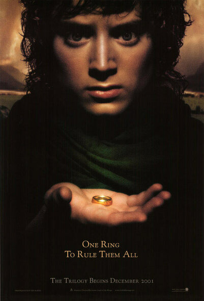 LOTR Fellowship Of The Ring Poster