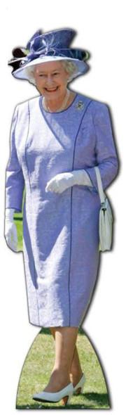 Queen Elizabeth II - Cardboard Cutout