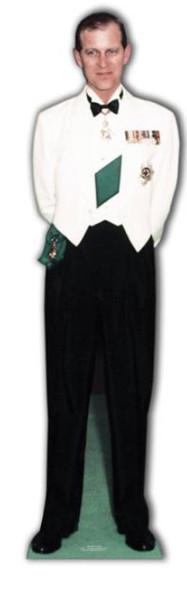 Prince Philip (Duke Of Edinburgh) - Cardboard Cutout