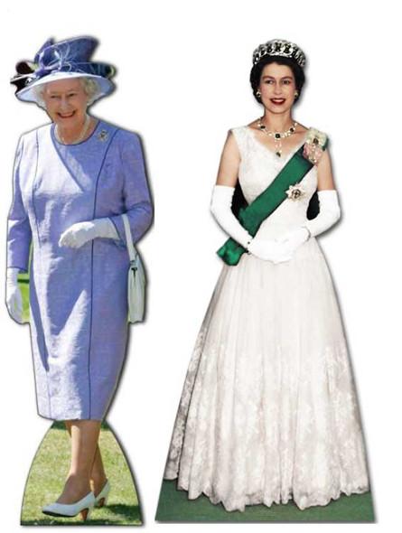 Queen Elizabeth II (1953 to 2012) - Cardboard Cutouts