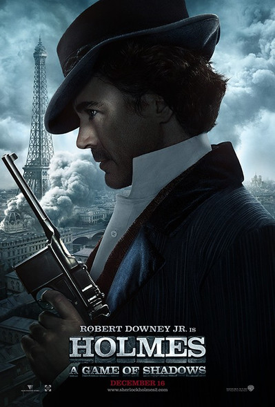 SHERLOCK HOLMES:A GAME OF SHADOWS (ROBERT DOWNEY JR.) Poster