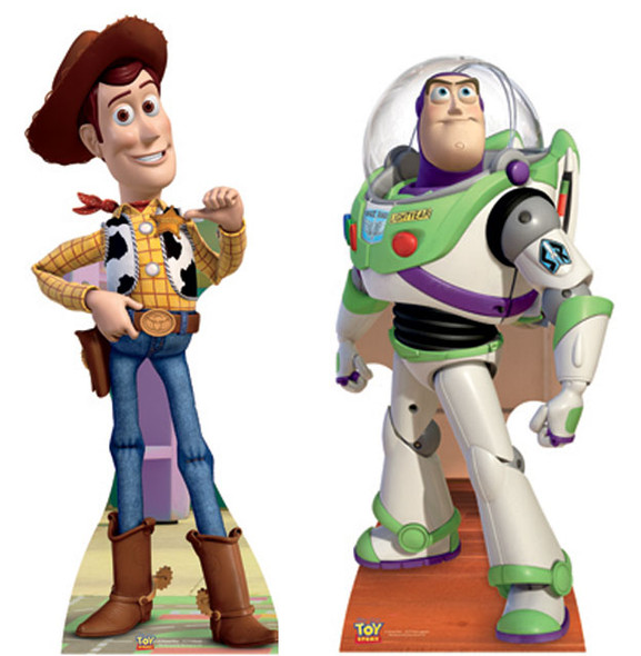 Toy Story Cardboard Cutout Set