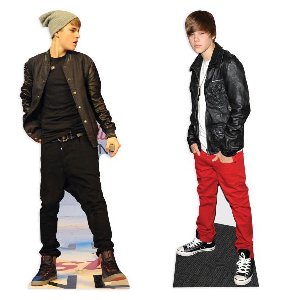 Justin Bieber Cardboard Cutout Set
