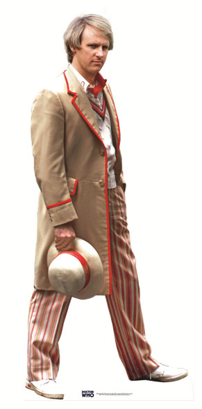 Fifth Doctor Who Peter Davison Cutout