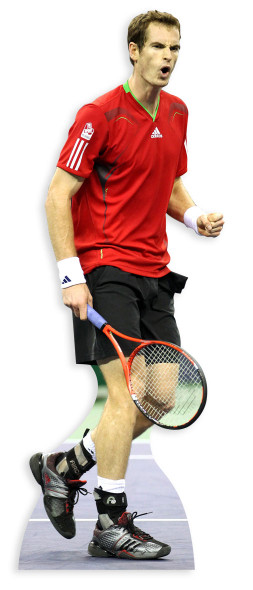 Andy Murray Cutout