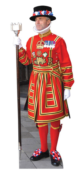 Royal Beefeater Cutout