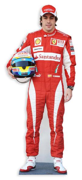 Fernando Alonso Cutout