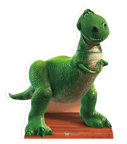 Rex Toy Story Cutout