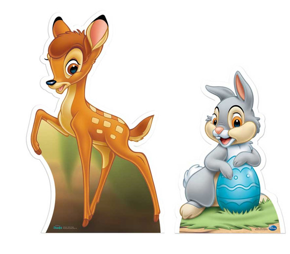 Bambi & Thumper Cutout Set