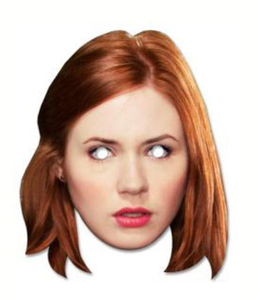 Amy Pond Face Mask