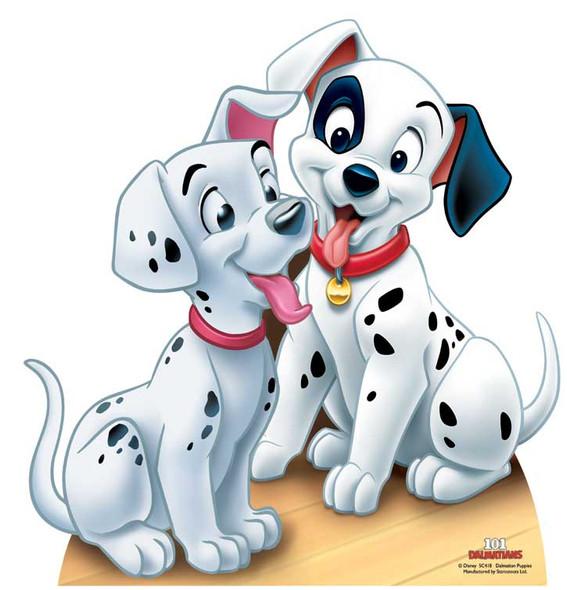 Dalmatian Puppies - 101 Dalmatians Cutout