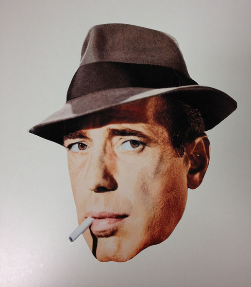 Humphrey Bogart Face Mask