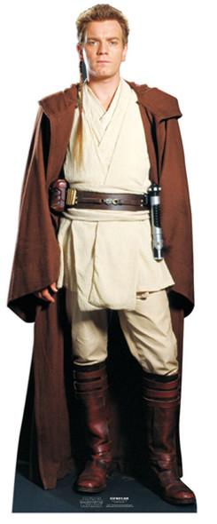 Obi Wan Kenobi Star Wars Cardboard Cutout